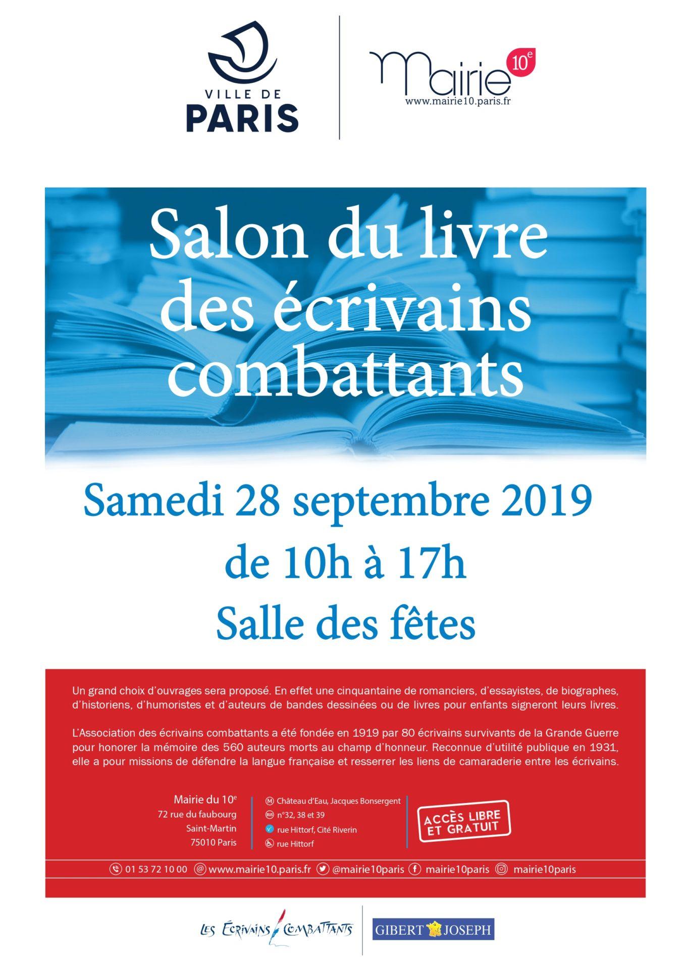Affiche salon du livre - ecrivai ns combattants 2019_page-0001