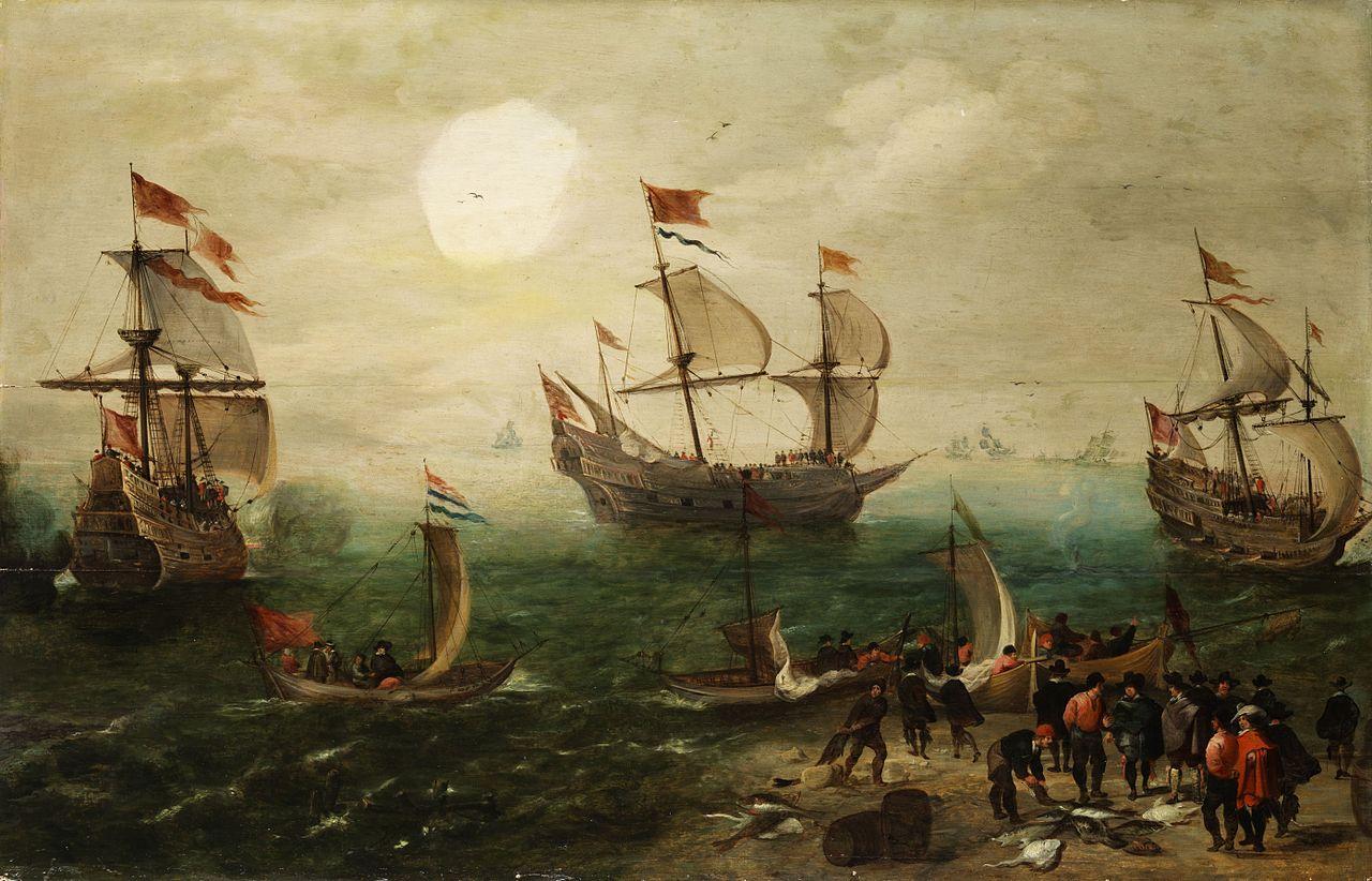 Tableau de Cornelis Verbeeck.