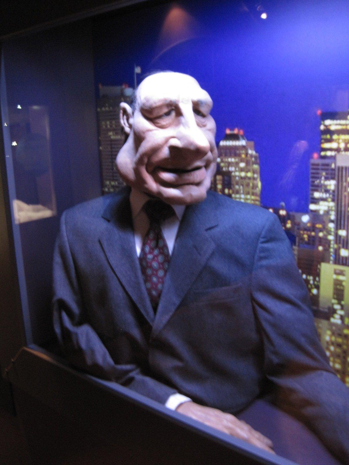 Chirac supermenteur