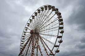Grande roue forain