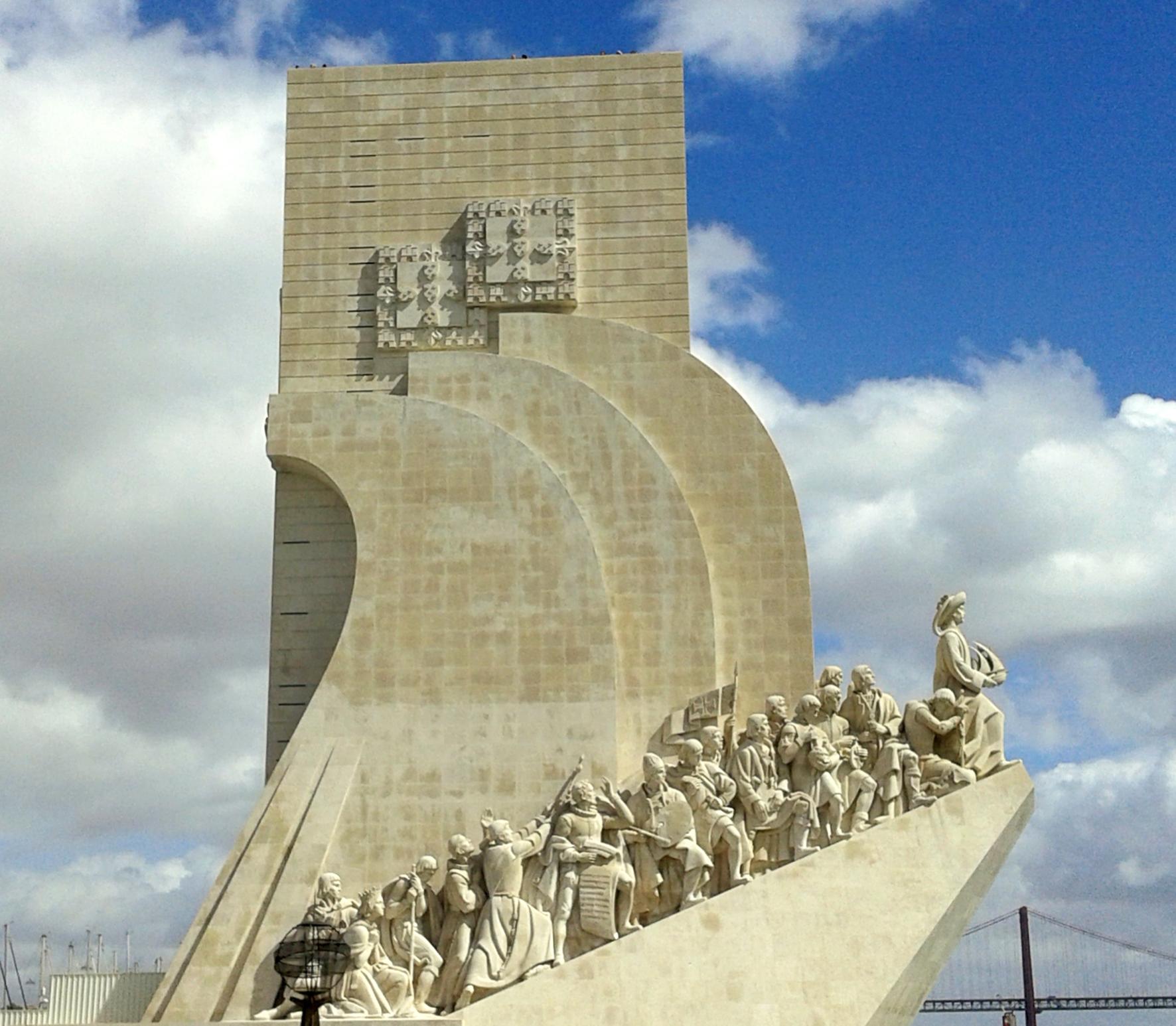 Le Monument aux Découvertes, Lisbonne.