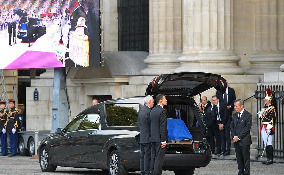 funerailles Chirac