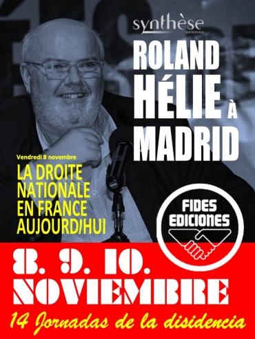 Roland Helie 14e Journees dissidences