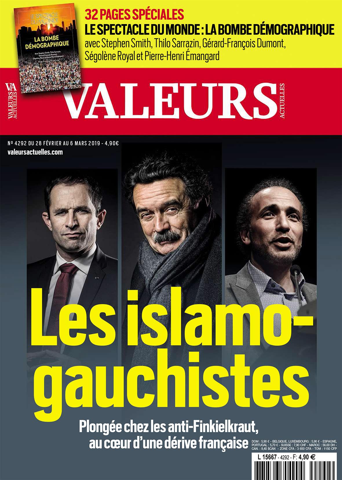 Valeurs actuelels islamo-gauchistes