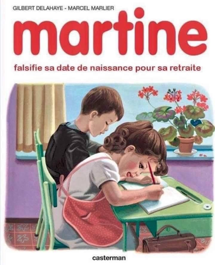 Martine retraite