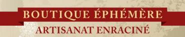logo Boutique ephemere 2019