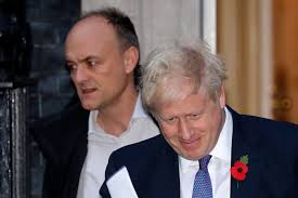 Dominic Cummings et Boris Jonhson.