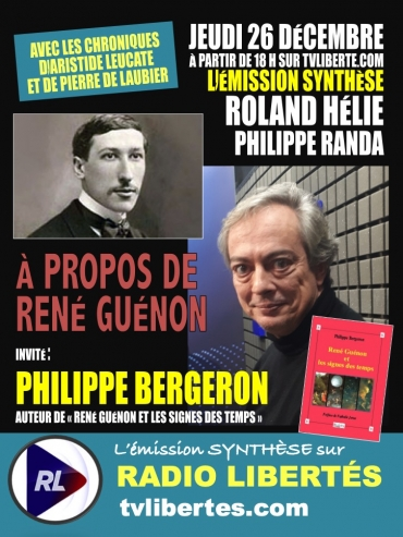 Synthese Philippe Bergeron Guenon