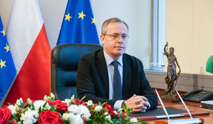 Tomasz Przesławski, juge de la Cour suprême polonaise.