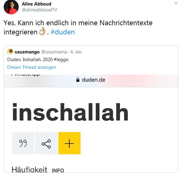 Tweeter Inschallah 02