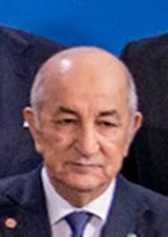 Abdelmadjid Tebboune.