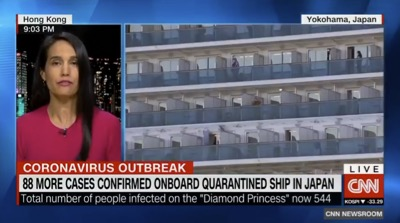CNN augmente son audience grâce au « Diamond Princess »;
