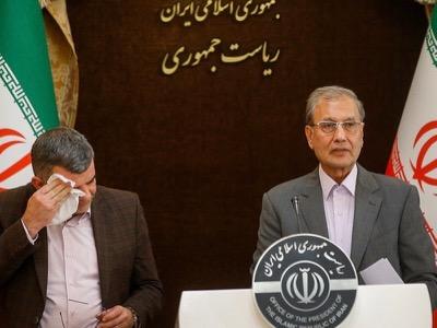 Lors d'une conférence de presse sur le Covid-19, le ministre adjoint iranien à la Santé, Iraj Harirchi, apparaît contaminé.