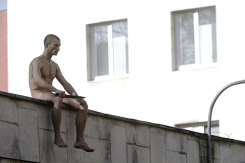 Un étrange «citoyen», ce Piotr Pavlenski.