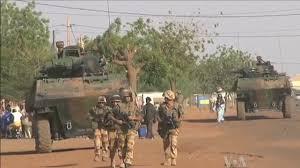 Soldats français au Mali.