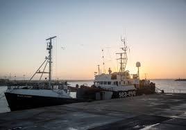 Le bateau dd l'ONG Sea Eye.
