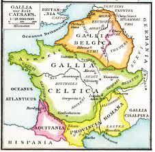carte France Gaulois