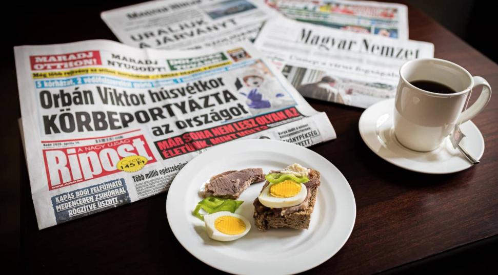 presse hongroise