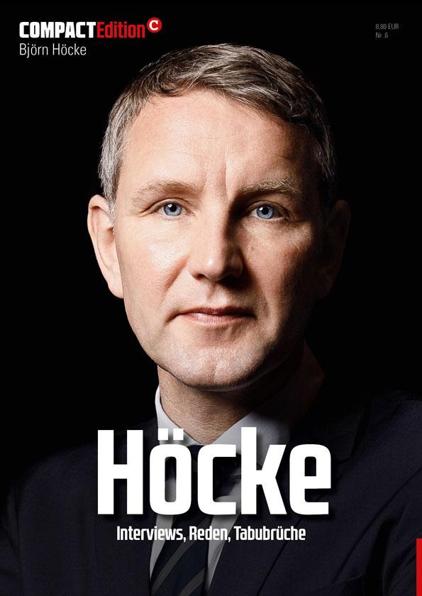 Numéro spécial de la revue Compact consacré à Björn Höcke.