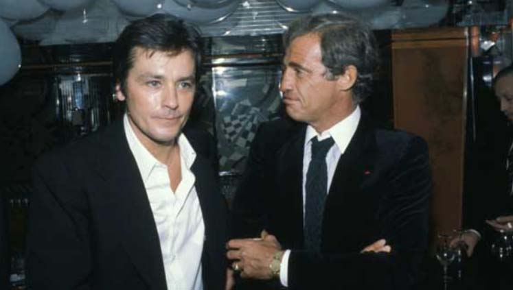 Alain Delon et Jean-Paul Belmondo.