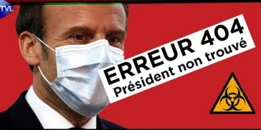 Macron erreur 404