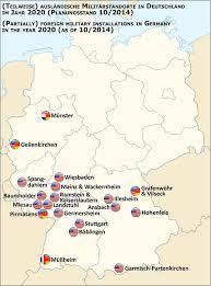 Troupes US basées en Allemagne.