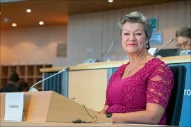 Ylva Johansson.