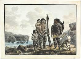 Famille inuit.