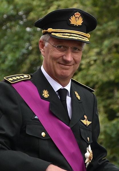 Philippe, roi de Belgique.